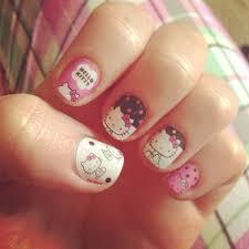 12 cute hello kitty nail designs for 2016 pretty designs