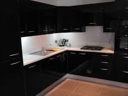 black gloss kitchen ideas black high gloss kitchen modern kitchen dublin by conbu