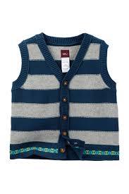 tea collection gardens sweater vest baby boys nordstrom