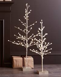 led tree artificial tabletop trees balsam hill