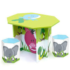 kids animal table and chairs painted picnic table ideas funny animals painting table set