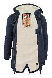 mens parka jacket tokyo laundry braxton fishtail snorkel hoo