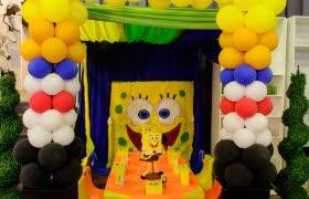Spongebob Centerpiece Decorations by Kiddies Parties Kiddies Parties Décor Equipment Hire