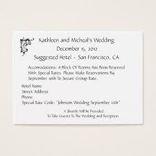hotel information business cards templates zazzle