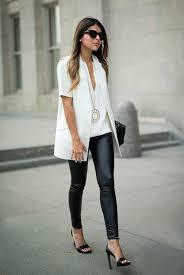 tenue de bureau mode et beauté une élégante tenue de bureau avec legging