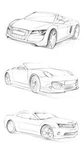 car sketch practice by darkdamage on deviantart sketch