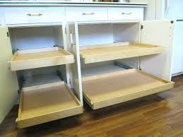 roll out shelves for existing cabinets enthralling sliding shelves for kitchen cabinets shelf cabinet