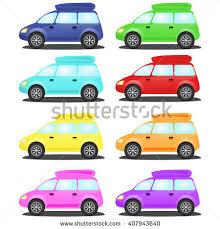 funny cartoon toy cars car stock vector 520918108