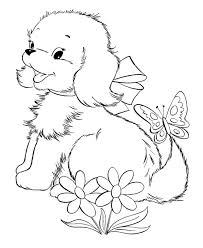 amazing coloring pages puppies and kittens 14 on download coloring