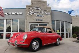 porsche speedster for sale 1960 porsche 356 b super 90 roadster stock 111c for sale near