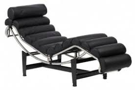 Leather Chaise Lounge Black Leather Chaise Lounge Chair Foter