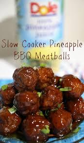 best slow cooker pineapple bbq meatballs recipe bbq meatballs