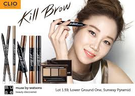 clio tattoo eyebrow pen event beauty clio new tinted tattoo kill brow muse by watsons