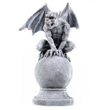 gargoyle on i a set of 3 of these in different poses