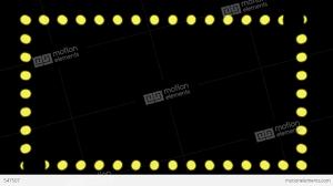 loopable chasing lights border stock animation 547507