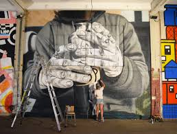How To Make Mural Art At Home by Artists Fill A Lower East Side Building With Murals Before It U0027s