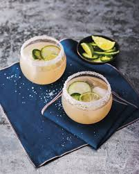 jalapeno margaritas cucumber and jalapeño margarita