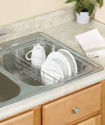 Expandable Kitchen Sink Drying Rack Holder Organizer Dish Utensil - Kitchen sink plate drainer