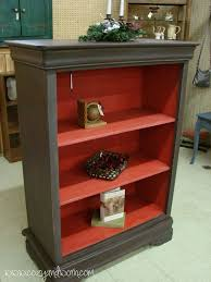 Small Red Bookcase Best 25 Old Bookcase Ideas On Pinterest Bookcase Makeover