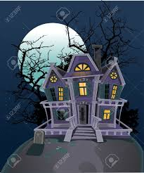 haunted halloween witch house royalty free cliparts vectors and