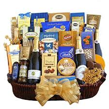 new year gift baskets chagne kisses happy new year gift basket gourmet