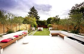 ideas for small front gardens modern garden entrancing patio uk