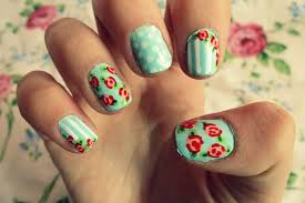 easy flower nail designs step by step choice image nail art designs