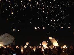 the lights festival houston 2016 hundreds gather to light the sky with lanterns at baytown s royal
