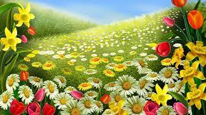 Free Desktop Wallpaper For Thanksgiving Spring Flower Desktop Backgrounds Wallpaper Cave