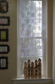 snowflake curtains create and babble