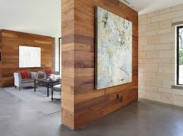 Reclaimed Wood Room Divider The Hgtv Property Brothers Did A Similar Reclaimed Wood Clad