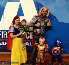 Avengers Halloween Costumes Avengers Family Costume