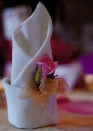 how to fold napkins for a wedding autumn leaf napkin fold bring those fantastic fall colors inside