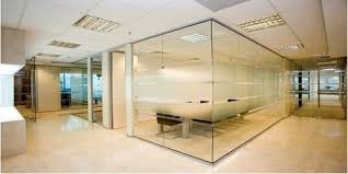 designer glass partition at rs 325 square feet s glass