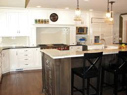 countertops gloss grey kitchen cabinets backsplash wall decals