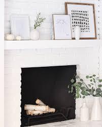 a modern fireplace makeover u2013 halfway wholeistic