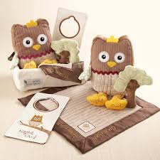 Personalize Baby Gifts Enchanting Nighty Night Owl Baby Blanket Gift Set