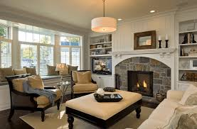 20 beautiful living rooms with fireplaces