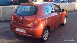nissan micra limited edition nissan micra visia red 2016 youtube