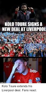 Kolo Toure Memes - kolo toure signsa new deal at liverpool imgfip dorm kolo toure