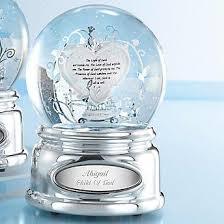baptism snow globes personalized light of god water globe baptism godchild gift