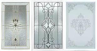 Exterior Glass Door Inserts Decorative Glass Doors Pantry Glass Inserts Kitchen