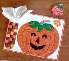 quilted halloween placemats i made my diy projects pinterest