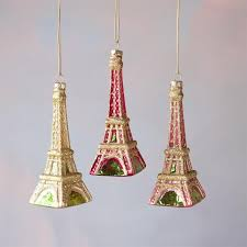 warm shades eiffel tower ornament glitterville shop
