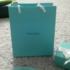 Tiffany And Co Gift Wrapping - tiffany u0026 co authentic tiffany gift wrap from s u0027s closet on