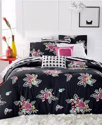 Cynthia Rowley Bedding Queen New Artistic Accents Sketch Floral 9 Pc Extra Long Twin Comforter