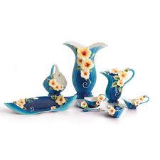 Franz Vase Franz Collection Tropical Beauty Floral Porcelain Vase Bargain