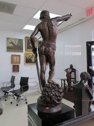 bronze statue of david antique buyers collection