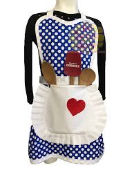 Personalized Kitchen Aprons Retro Lucy Costume Or Kitchen Apron With Pocket Apron Old