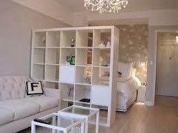 home design beautiful studio apartment room divider ideas with